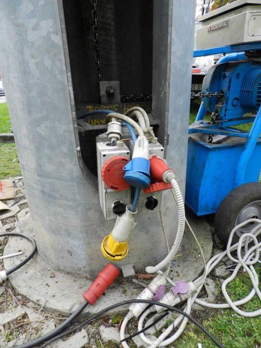 controllo elettrico torre faro