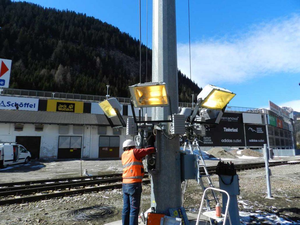 controllo meccanico elettrico torre faro