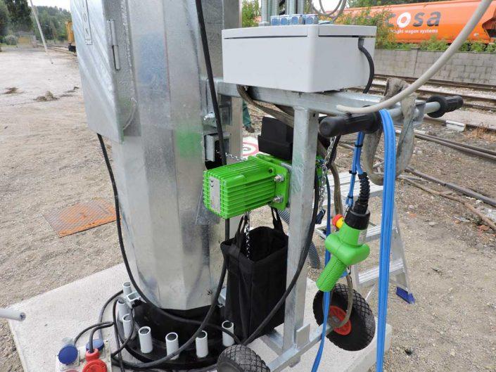verifica paranco impianto elettrico torre faro
